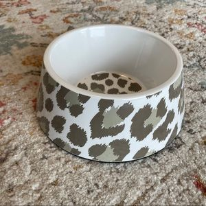 NWT Animal Planet Pet Bowl in Leopard